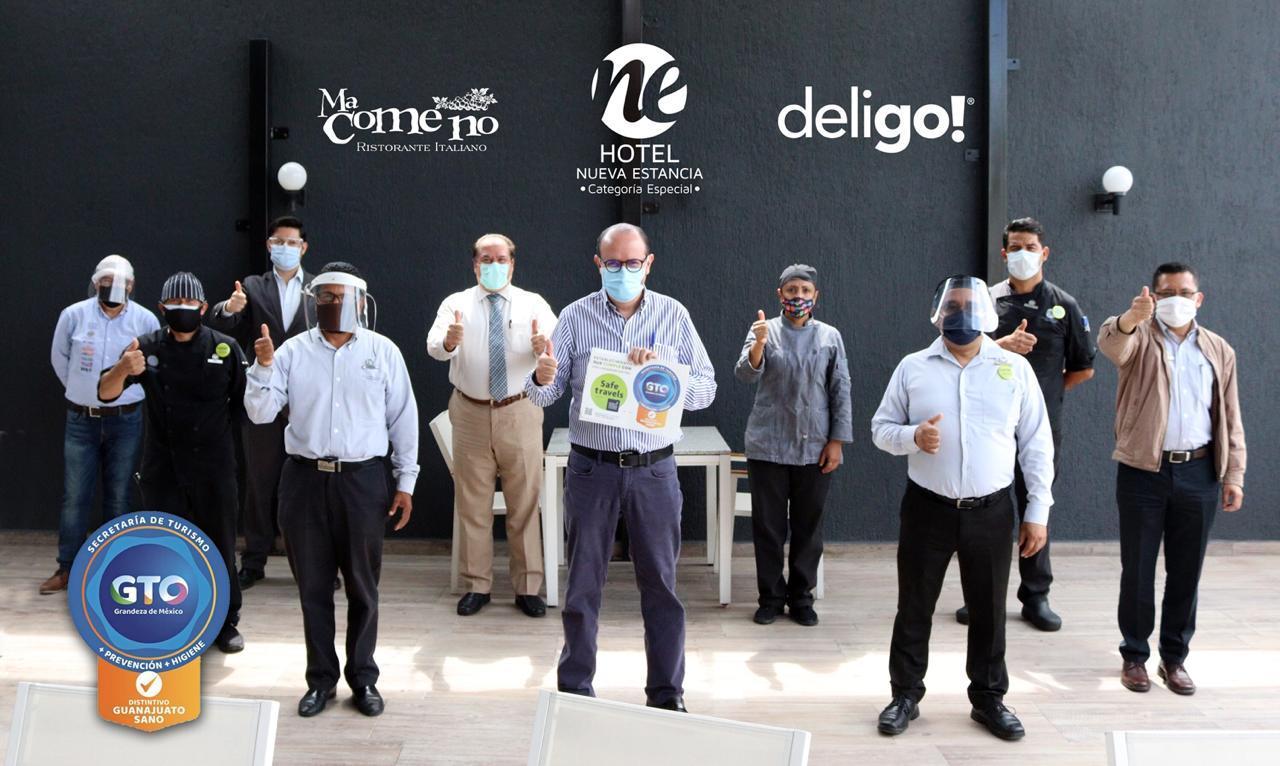 Reciben 38 Restaurantes Distintivo Guanajuato Sano en León
